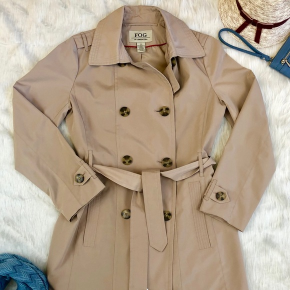 dfbc99a6c {London Fog} Women's Double Breasted Trench Coat